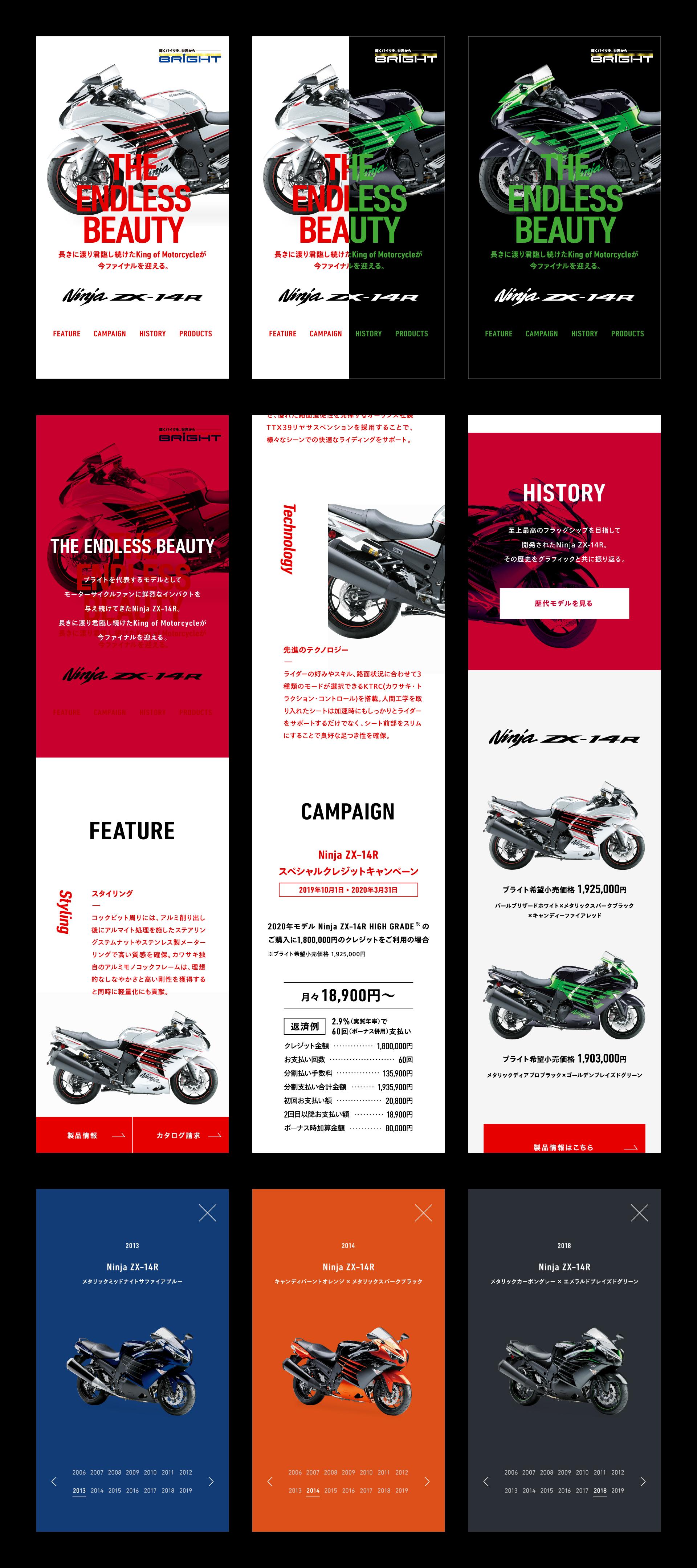 Ninja ZX-14R スペシャルサイト04
